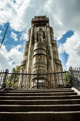 Monumento a Justo Rufino Barrios en Quetzaltenango