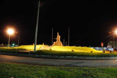 Monumento a Tecún Umán en Quetzaltenango