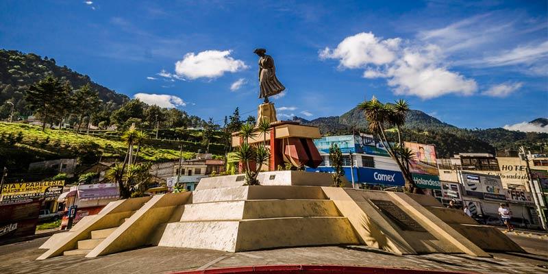 Monumento a la Marimba en Quetzaltenango