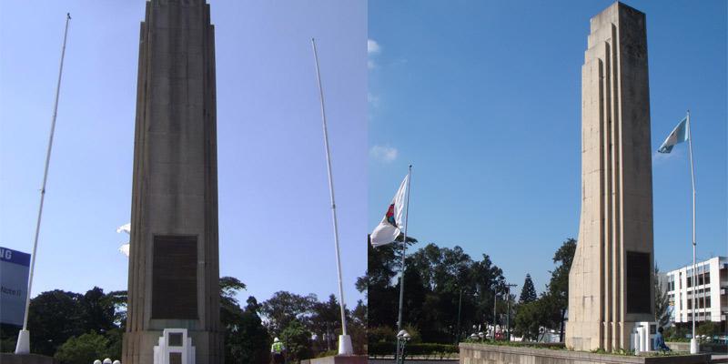 Monumento a los próceres de la Independencia en Guatemala