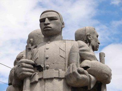 Monumento de Guatemala Tríptico de la Revolución
