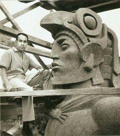 Monumento en Guatemala al Héroe Nacional Tecún Umán