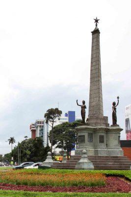 Monumento en Guatemala del Ejército o de la Estrella