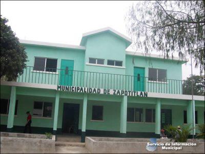 Municipalidad del municipio de Zapotitlán, Jutiapa