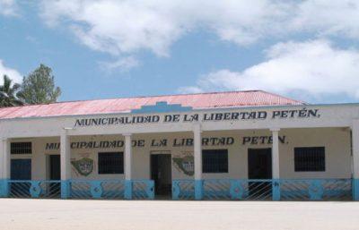 Municipalidad del municipio de la Libertad, departamento de Petén