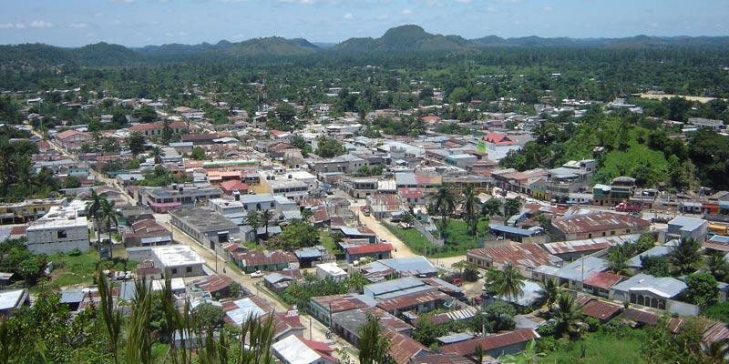 Municipio de Poptún del departamento de Petén