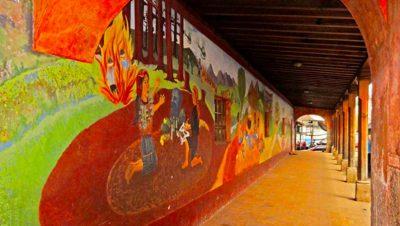 Museo Regional de Chichicastenango interior