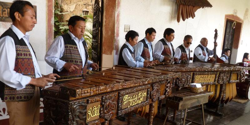 Origen de la Marimba símbolo patrio de Guatemala