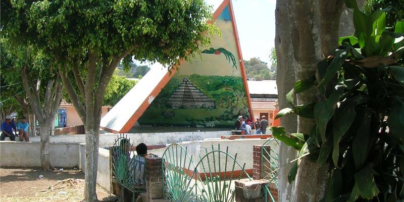 Parque Central de Municipio de Moyuta departamento de Jutiapa