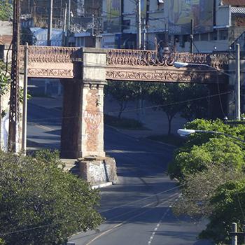Puente de la Barranquilla en la Ciudad de Guatemala