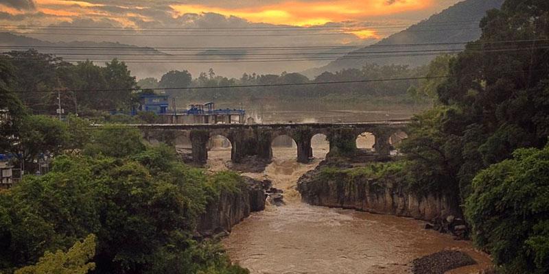 Puente de los Esclavos en Santa Rosa