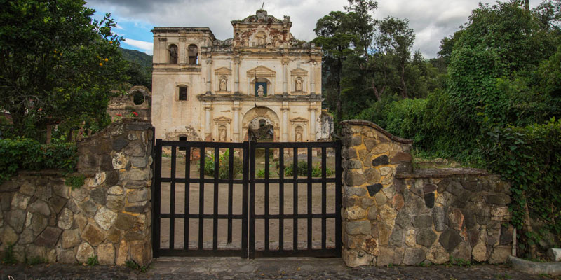 Ruinas de Nuestra Señora de los Remedios en Antigua Guatemala