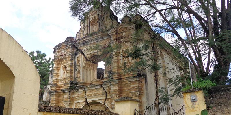 Ruinas de Santa Rosa de Lima en Antigua Guatemala