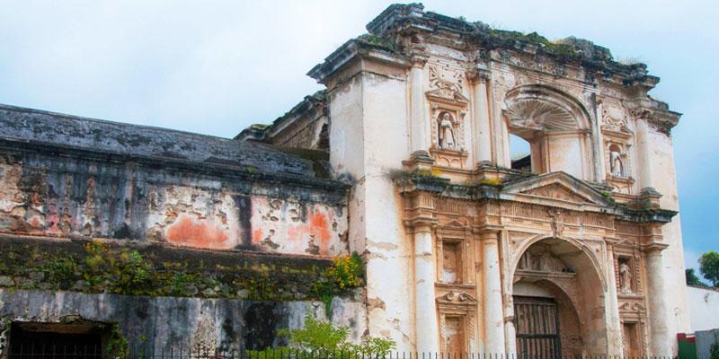 Ruinas de Santa Teresa en La Antigua Guatemala