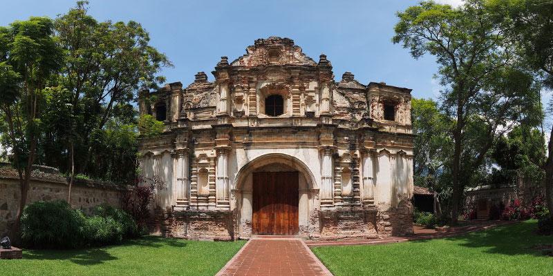 Ruinas de la Iglesia San José el Viejo en La Antigua Guatemala