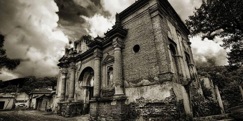 Ruinas de la Parroquia de San Sebastián en La Antigua Guatemala