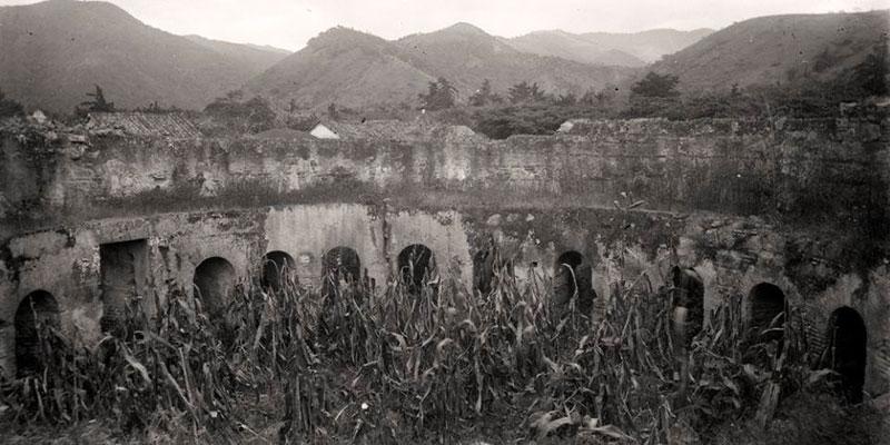 Ruinas del Convento de Capuchinas en La Antigua Guatemala