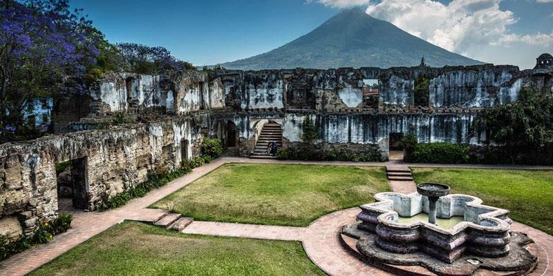 Ruinas del Convento de San Jerónimo en La Antigua Guatemala
