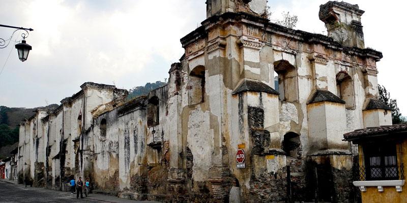 Ruinas del Convento de la Concepción en La Antigua Guatemala