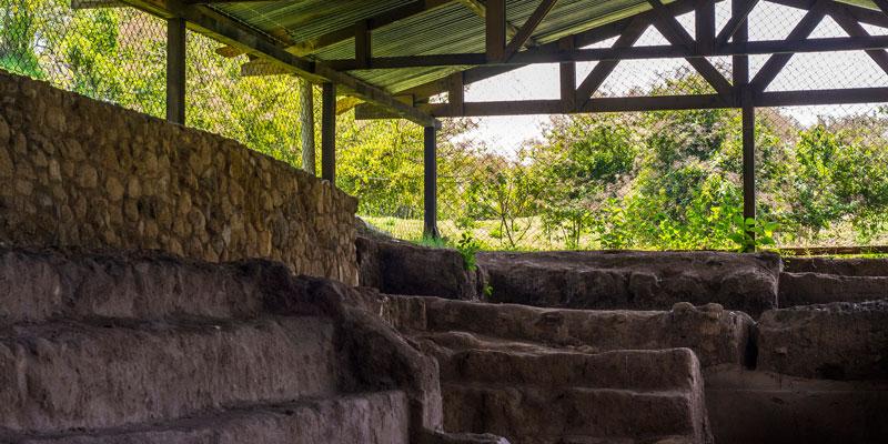 Sitio Arqueológico Kaminaljuyú en Guatemala