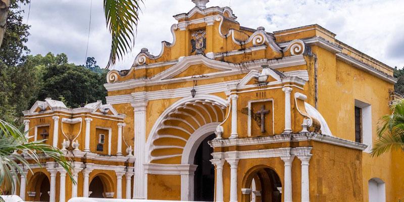 Templo de El Calvario en la Antigua Guatemala