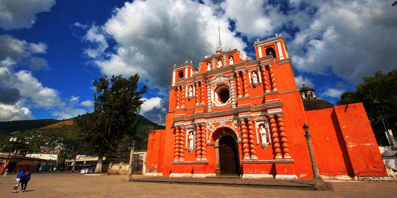 Templo de Nuestra Señora de la Asunción Jocotenango