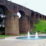 Acueducto de Pinula en la Ciudad de Guatemala