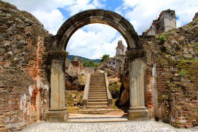 arco de las ruinas de la recoleccion
