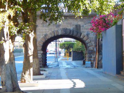 arco del puente de la penitenciaria