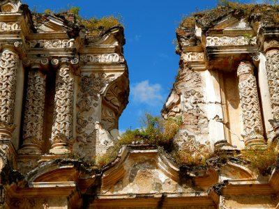 columnas de las ruinas del carmen