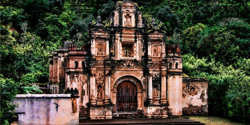 ermita de la santa cruz en la antigua guatemala