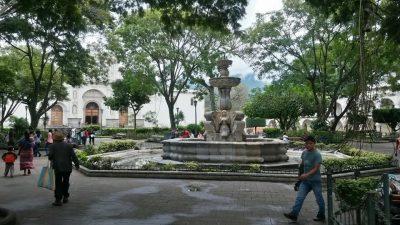 fuente de las sirenas parque de antigua
