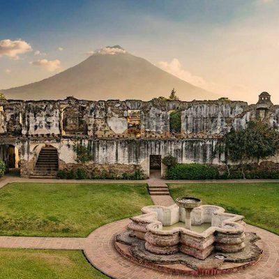 fuente de san jeronimo antigua guatemala