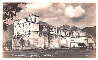 iglesia de jocotenango en la antiguedad