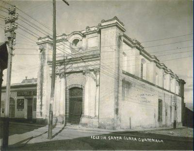 iglesia de santa clara en la antiguedad