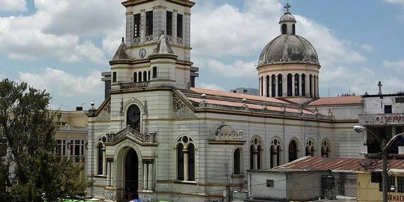 iglesia el calvario en la ciudad de guatemala