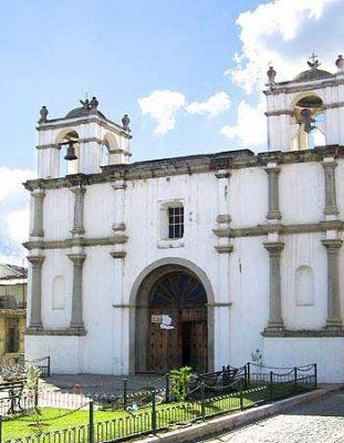 iglesia santa lucia en antigua guatemala