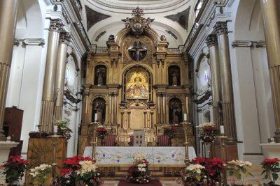 interior de la iglesia de santo domingo