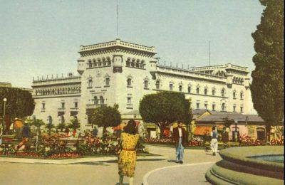 palacio de la policia en la antiguedad