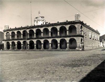 palacio del ayuntamiento en la antiguedad