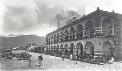 palacio del ayuntamiento en sus inicios