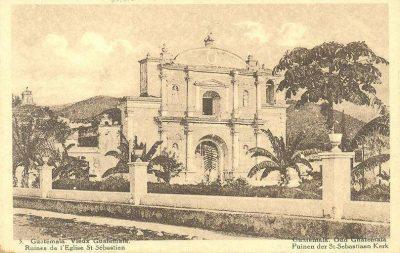parroquia de san sebastian de la antigua guatemala en la antiguedad