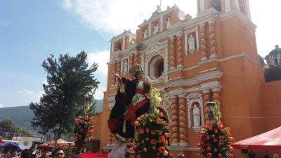 procesion virgen jocotenango