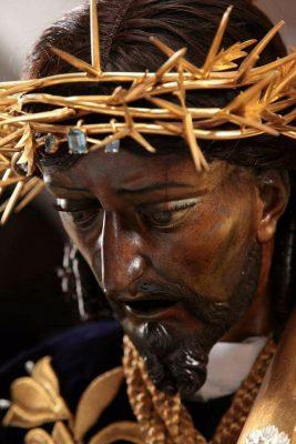rostro de jesus de candelaria en guatemala