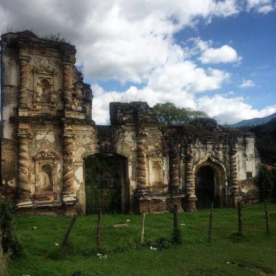 ruinas de candelaria en antigua guatemala