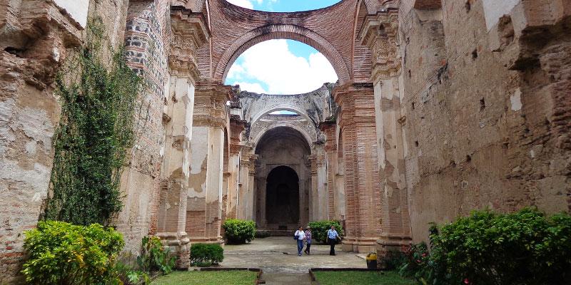 Ruinas de la Catedral de La Antigua Guatemala