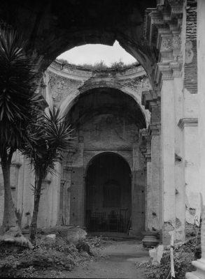 ruinas de la catedral de la antigua