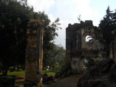 ruinas de la ermita de los dolores