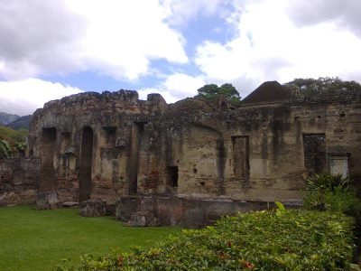 ruinas de san jeronimo en antigua guatemala