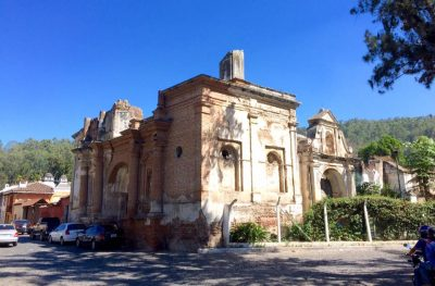 ruinas de san sebstian